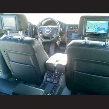 A8 W12 mit Rear Seat Entertainment